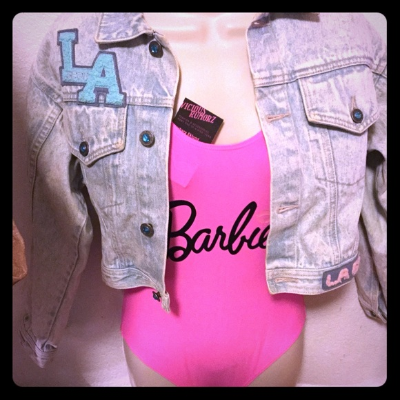 Other - Barbie One Piece Hot Pink